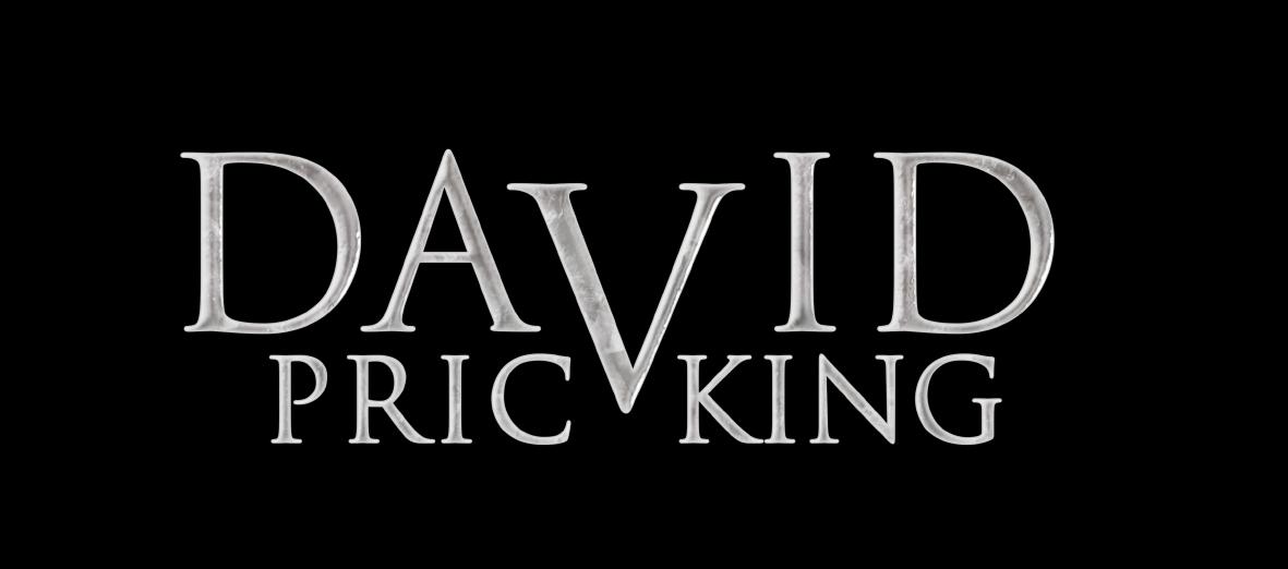 Logo des Zauberkünstlers auf schwarzem Hintergrund